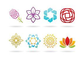 Logos de fleurs