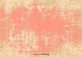 Vector grunge rose / fond beige