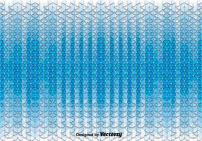 Résumé Vector Background With Blue Triangles