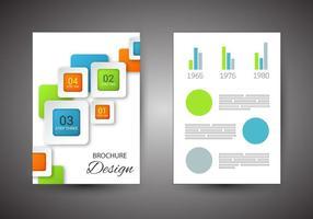 Vector de conception de brochure gratuite