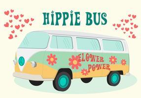 Vecteur de bus hippie