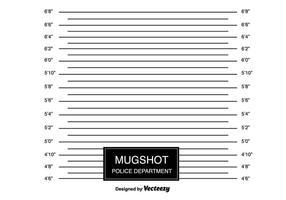 Contexto de Mugshot vecteur