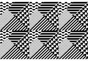 Bauhaus à motif transparent vecteur