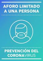 affiche d'une personne à capacité limitée écrite en espagnol