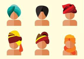 Vecteur turban