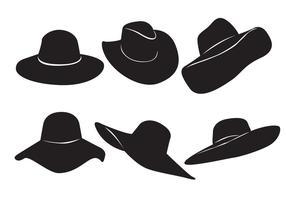 Vecteur de chapeau de femme gratuit
