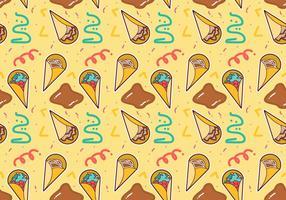 Free Crepes Pattern # 4 vecteur