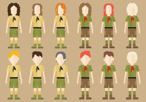 Personnages scouts