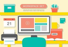 Fond d'écran moderne moderne d'intérieur de bureau