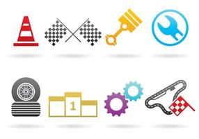 Logos Pitstop Et Voiture