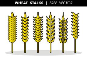 Tiges de blé vecteur gratuit