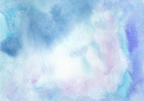 Aquarelle bleue fond libre de vecteur