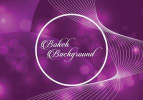 Fond de bokeh violet vecteur