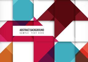 Fond de vecteur abstraite coloré gratuit