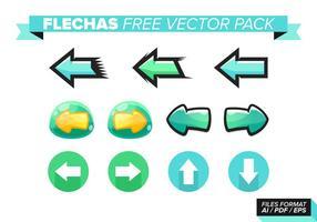 Pack gratuit vectoriel flechas