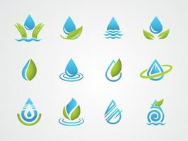 Vecteur d'eau gratuit