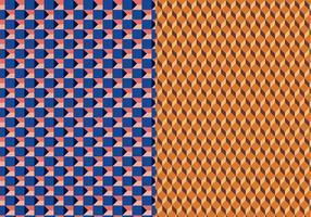 Motif géométrique 3D vectoriel