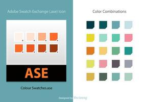 Swatches de couleurs Illustrator Free Vector