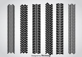 Ensemble vectoriel de marques de pneu