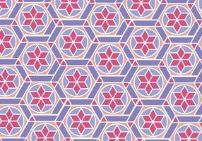Motif marocain vecteur