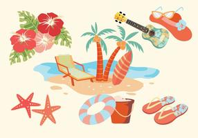 Vecteurs d'Hawaï vecteur