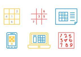 Graphisme vectoriel gratuit Sudoku 1