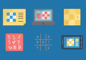 Libre graphique sudoku graphique 2 vecteur