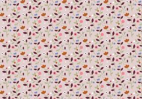 Motif floral en pastel