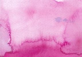Texture de l'aquarelle vecteur libre rose