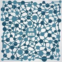 flux de travail Big Data vecteur