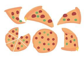 Pizza vectorielle