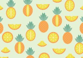 Motif d'ananas vecteur