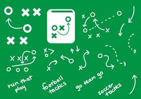 Playbook graphics handdrawn plays
