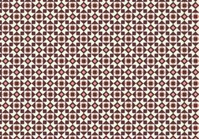 Motif géométrique du carreau vecteur