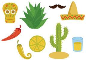 Vecteurs mexicains gratuits vecteur