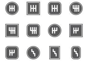 Vecteurs de boîte de vitesses gratuits