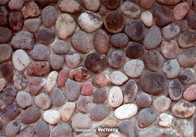 Mur de pierre réaliste de vecteur