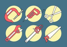 Ensemble d'outils vectoriels vecteur