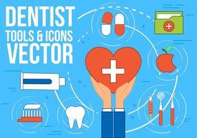Icônes gratuites de vecteur de dentiste