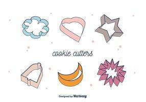 Vecteur de coupe-biscuits
