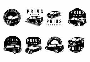Ensemble d'insigne Prius