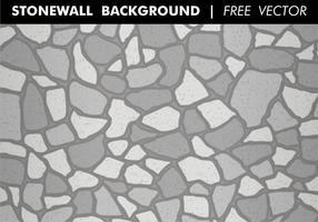 Vecteur libre de fond de mur en pierre