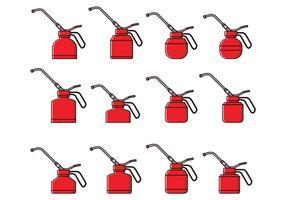 L'huile peut librement vecteur