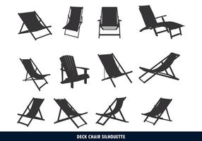 Chaise de terrasse Silhouette