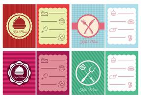 Design de menu pour enfants