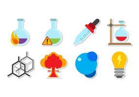 Vecteur gratuit de particules et de matières chimiques de neurones