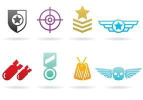 Logos de guerre vecteur
