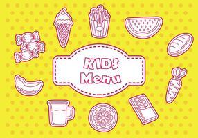Icône de menu pour enfants