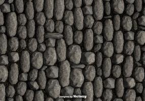 Vecteur de fond de mur en pierre de galets