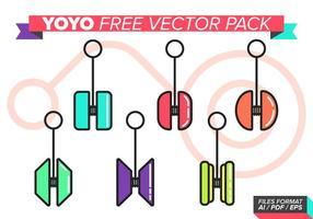 Pack de vecteur gratuit yoyo